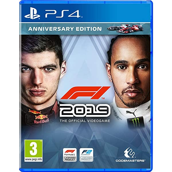 PS4 - F1 2019 - Anniversary Edition - [PAL EU - NO NTSC]