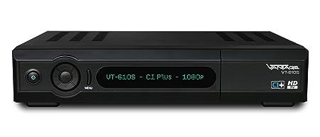 Vantage VT-610S Récepteur satellite HDTV Tuner Twin 2 interfaces CI 1 lecteur Conax HDMI Fonction PVR- Full HD USB 2.0