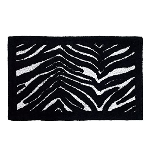 Creative Bath Products Zebra Bath Rug