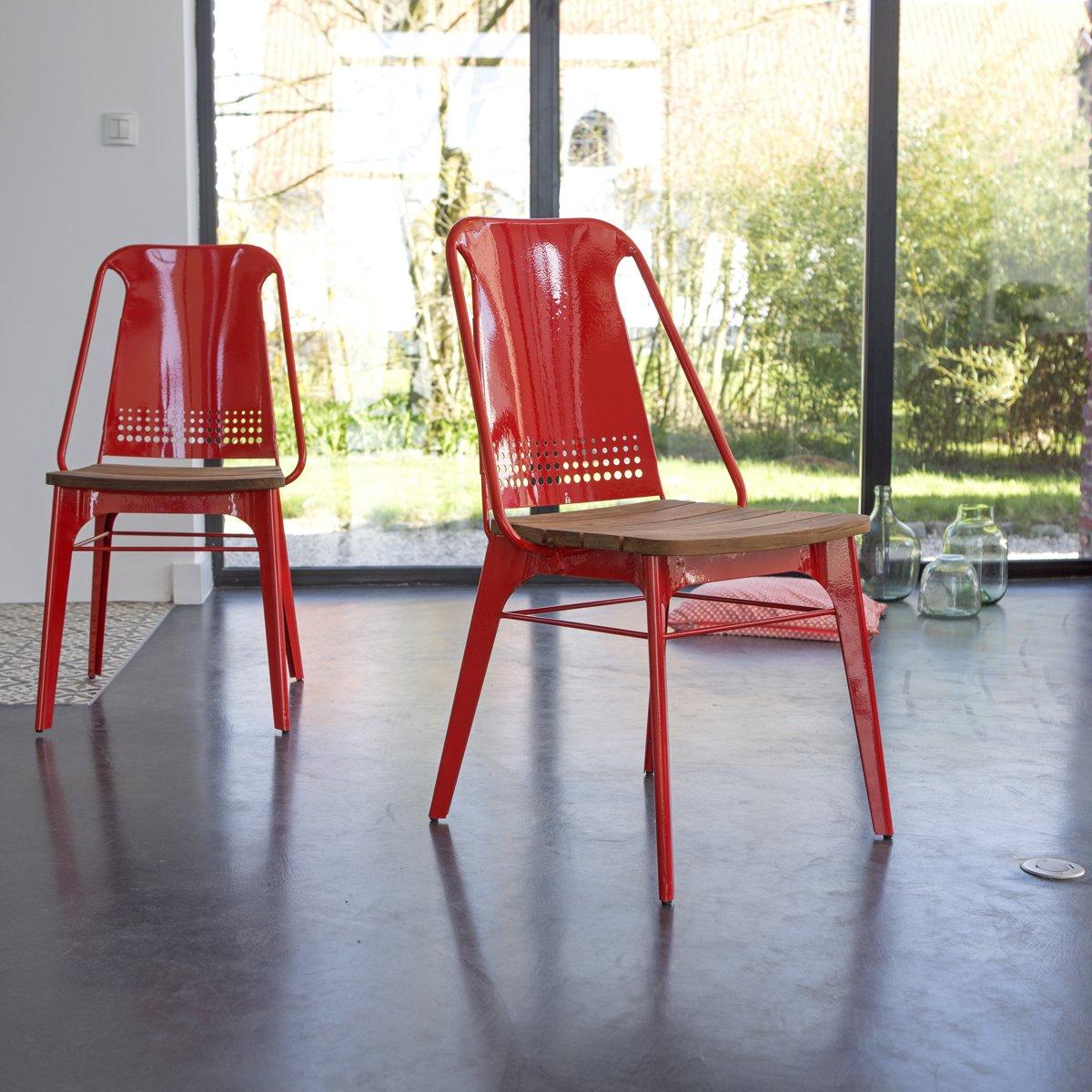 Stuhl Toscana [ 2er Set] Farbe: Rot jetzt kaufen