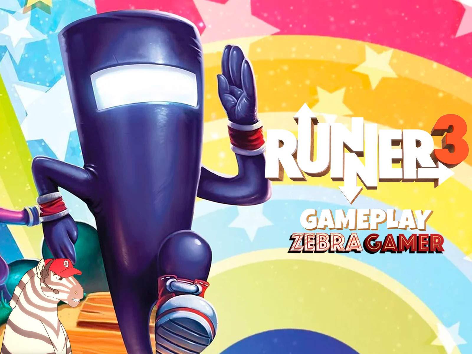 Clip: Runner3 Gameplay - Zebra Gamer - Season 1