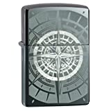 Zippo Compass Black Ice Pocket Lighter