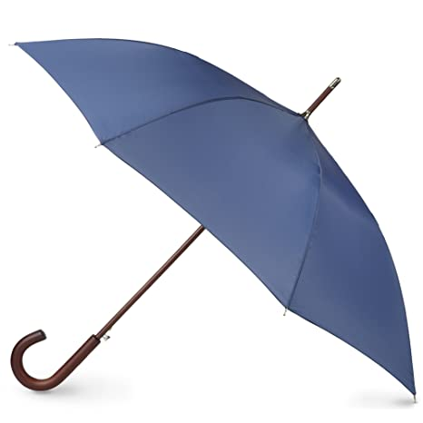 totes Stately - Auto Wooden Stick Umbrella