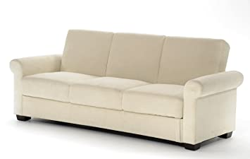Serta Dream Convertible Eli Sofa, Light Brown
