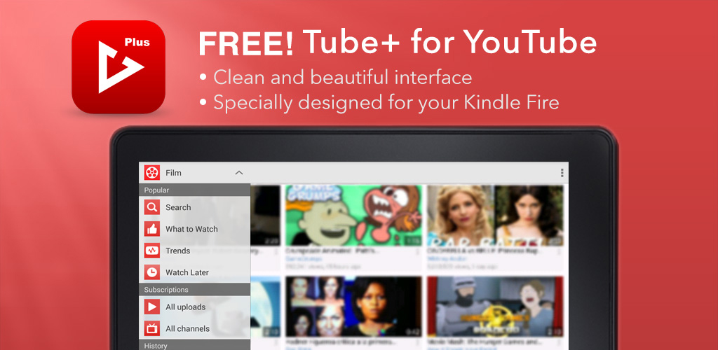 Tube+ for YouTube