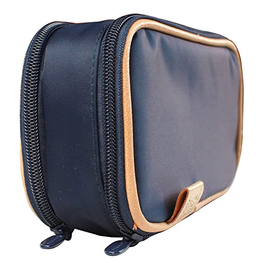 Double-Sided-Cosmetic-Toiletry-and-Jewelry-Bag-Travel-Organizer-with-Bonus-Reusable-Bag