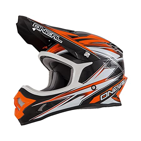 Casque Motocross ONeal 2016 3Series Hurricane Orange