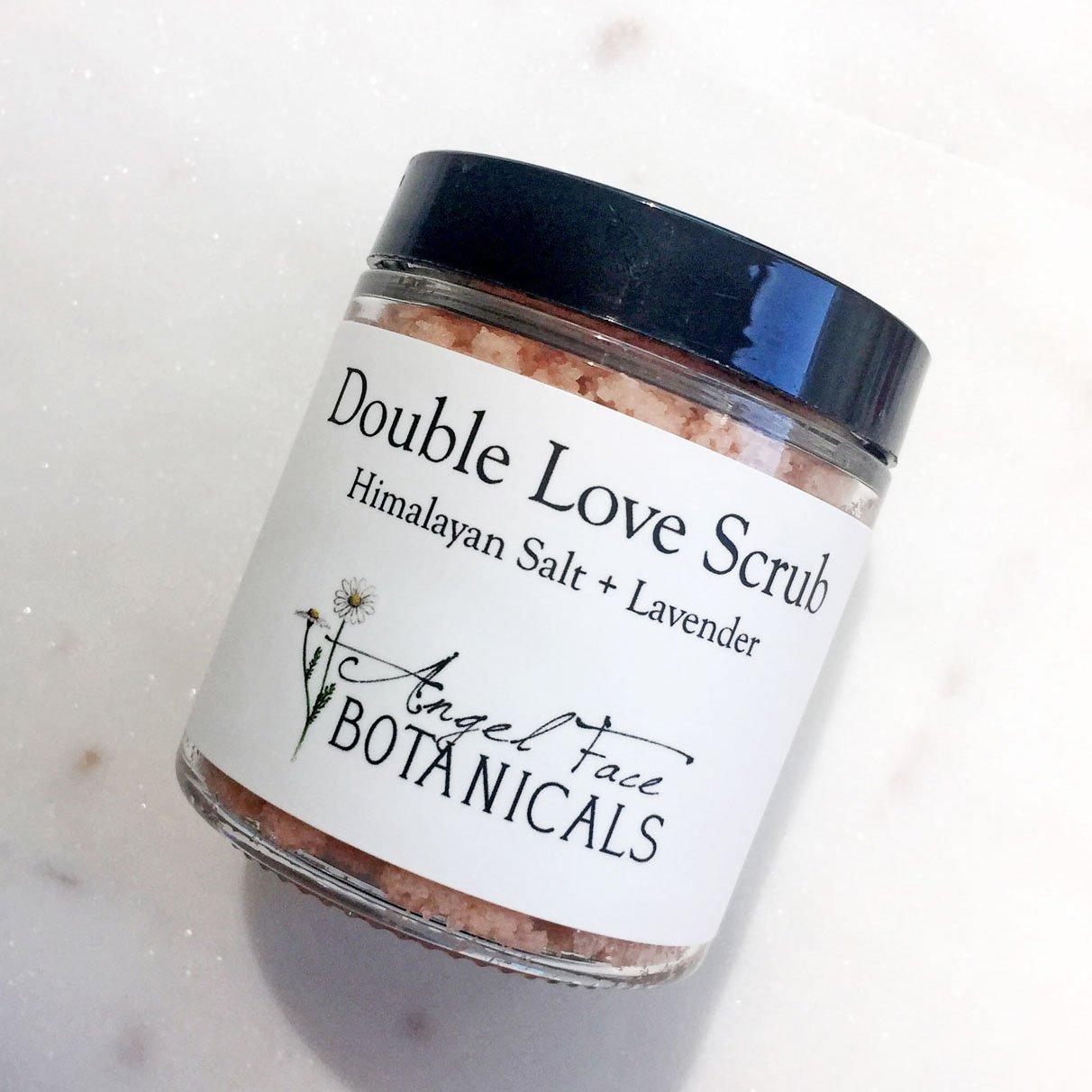 Buy Double Love Body Scrub With Himalayan Salt &anic Lavender Essential  Oils  Moisturizing And Exfoliating Sea Salt And Oil Scrub By Angel Face