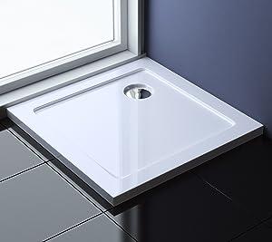 90x90x4 cm Design Duschtasse Faro1 in Weiß, Duschwanne, Acrylwanne  BaumarktKundenbewertung und weitere Informationen