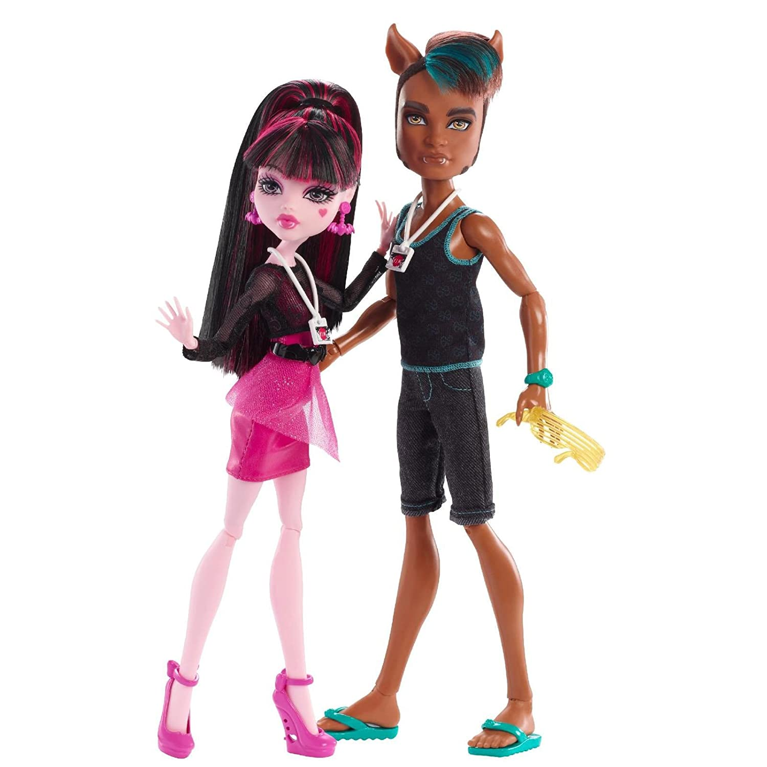 Monster High - Clawd Wolf and Draculaura Music Festival