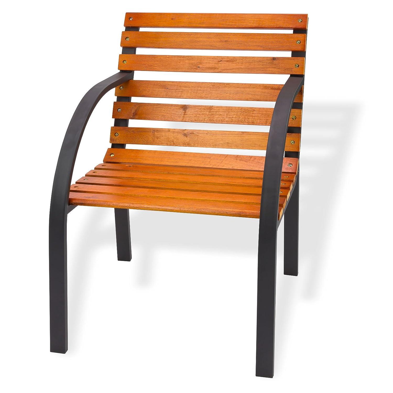 "Gartenstuhl ""Modern"" 55 cm Holz/Metall günstig kaufen"