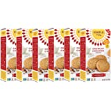 Simple Mills Crunchy Cookies, Cinnamon, Naturally Gluten Free, 5.5 oz, 6 count