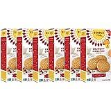 Simple Mills Crunchy Cookies, Cinnamon, Naturally Gluten Free, 5.5 oz, 6 count