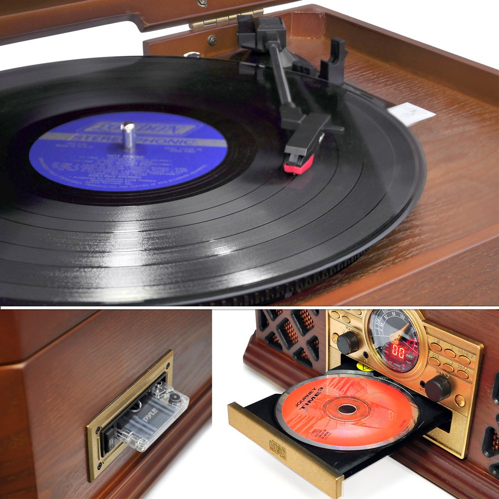 Here are some factors to consider before buying a vintage style record player.