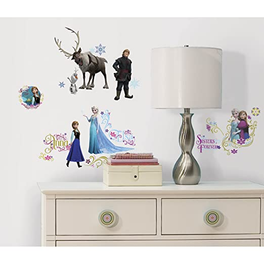 RoomMates RMK2361SCS Frozen Peel and Stick Wall Decals,