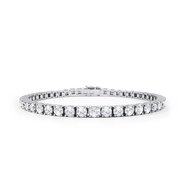 Diamant im Stardust-Schliff Damen-Armband – Silber – Weißgold günstig online kaufen
