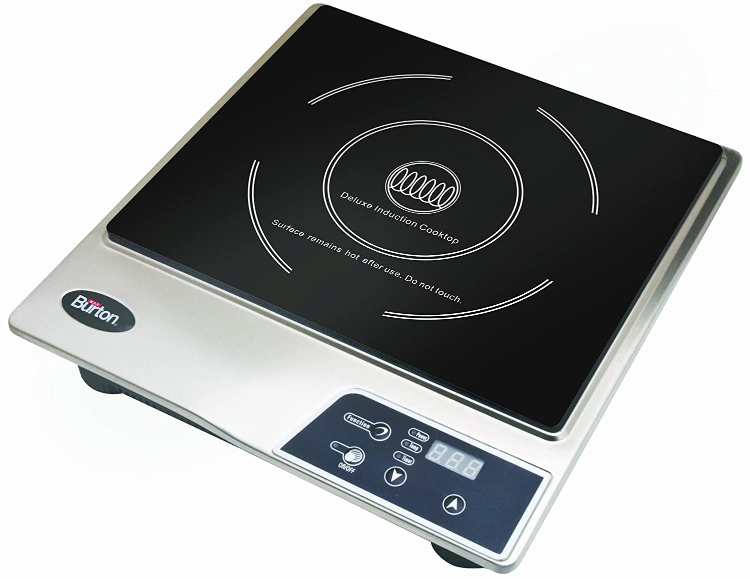 Max Burton Deluxe 1800-Watt Induction Cooktop