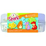Colorbok 74207 Spark Plaster Value Pack 6pc - Dinosaurs, Paint Your Own (Color: Paint Your Own)