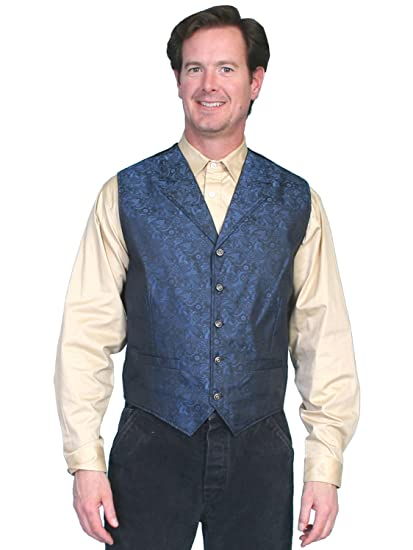Rangewear By Scully Mens Rangewear River City Vest  AT vintagedancer.com