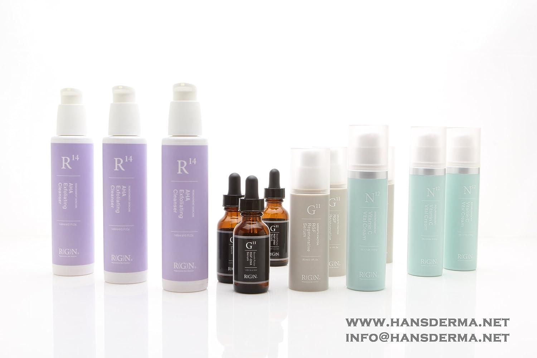 RGN R14 AHA Exfoliating Cleanser 148ml, Medical Grade Glycolic acid 7.5%, US FDA Licensed Manufacturer regenerative nephrology