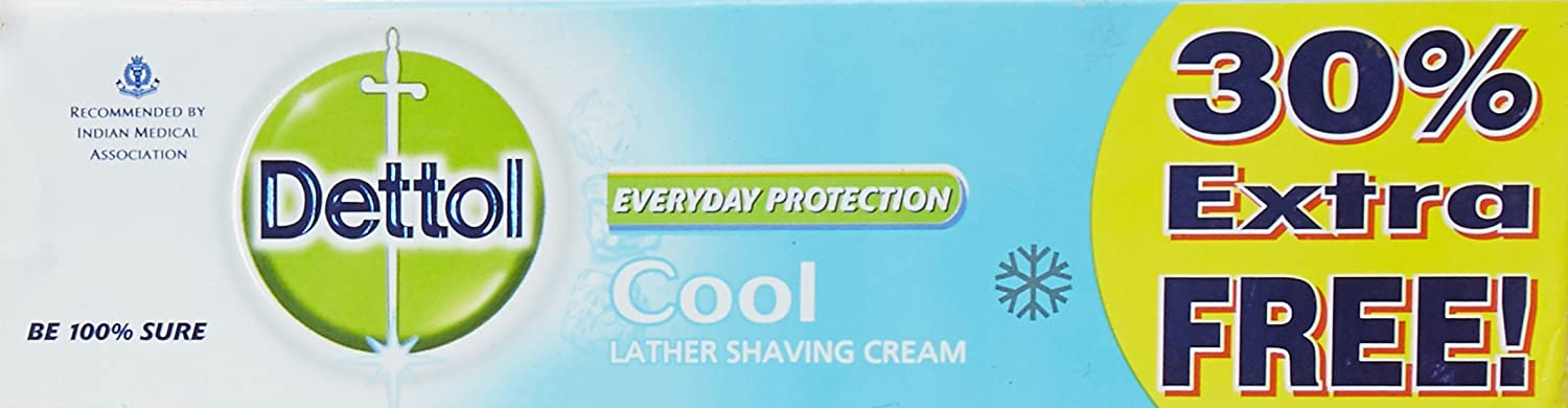 Dettol Shaving Cool Cream (60g +18g) low price