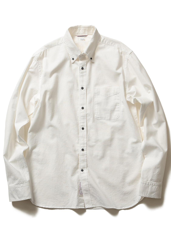 (ビームス ライツ) BEAMS LIGHTS ガーメントダイオックスフォードシャツ : 服&ファッション小物通販 | Amazon.co.jp