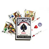 Hesslers Playing Card Decks (Color: Blue, Green, Red, Yellow)