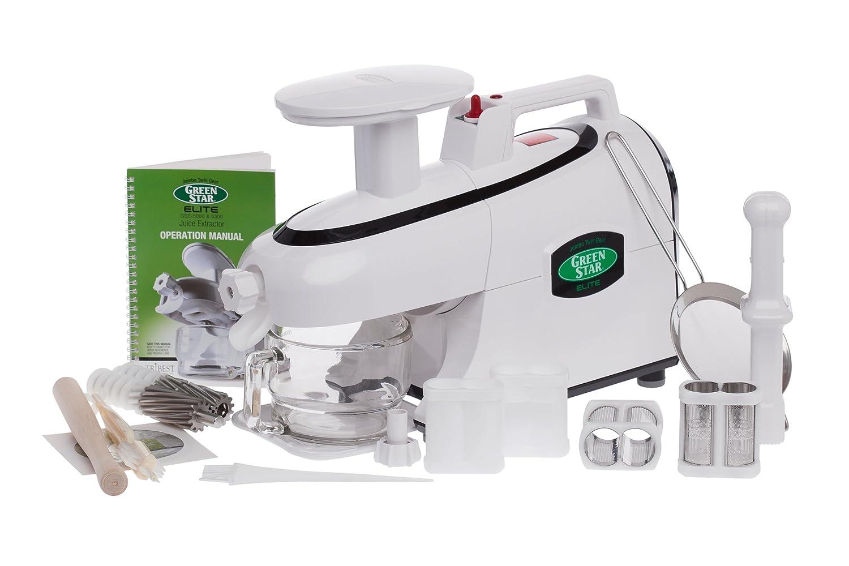 Green Star GSE-5000 Elite Jumbo Twin Gear Juice Extractor