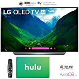 LG Electronics 4K Ultra HD Smart OLED TV 4K HDR AI Smart TV with Hulu $100 Gift Card (55