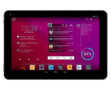 """DJC Touchtab4 8"""" Android 4.4 Tablette Tactile (Ecran Tactile HD IPS, Processeur CPU Quad Core 1.6GHz, 1Go RAM, 8Go Mémoire interne, Mémoire Extensible, WiFi, 1024*768 Resolution, 163 pixels par pouce, 2MP Double Camera, Bluetooth)"""