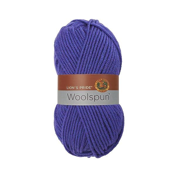 Lion Brand Yarn 671-140 Lion's Pride Woolspun, Violet