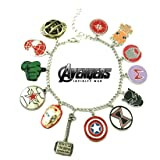 Avengers Infinity War Movie Theme Multi Charms Jewelry Bracelets Charm by Family Brands