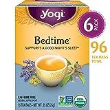 Yogi Tea - Bedtime - Soothing and Spicy Sweet - 6 Pack, 96 Tea Bags Total (Tamaño: 1)