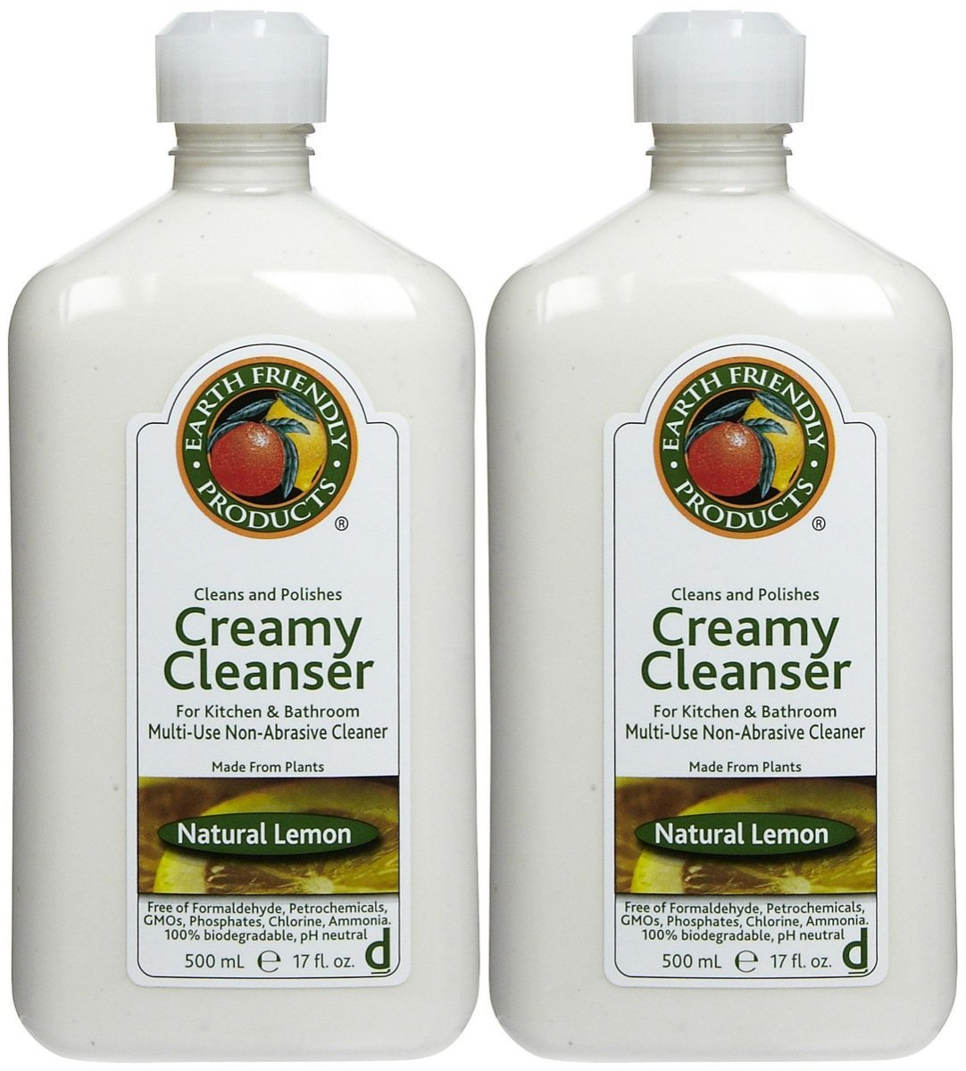 Earth Friendly Creamy Cleanser Lemon Liquid [094124]