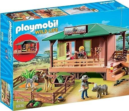 Playmobil 6936 Centre de soins pour animaux de la savane