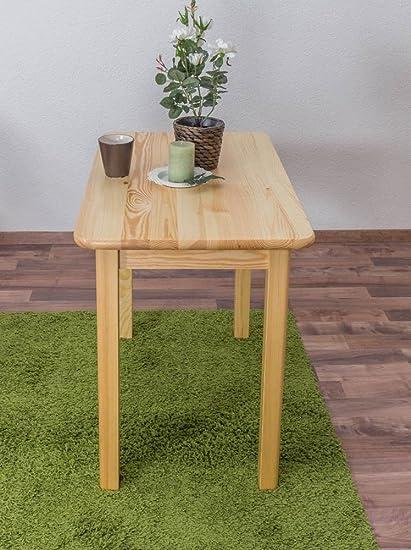 Tisch 90x55 cm, Farbe: Natur