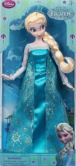Disney Princesses - Poupée Mannequin - La Reine des Neiges - Elsa - Frozen