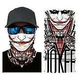 Versatile Face Mask Shields - Casual Balaclava Headwear- Stretchable Bandana Headbands- Wind/Sun/UV Protection- for Cycling, Motorcycling, Fishing (C) (Color: C, Tamaño: 25cm* long 50cm (+/- 1cm)/9.84inch*long19.68inch)