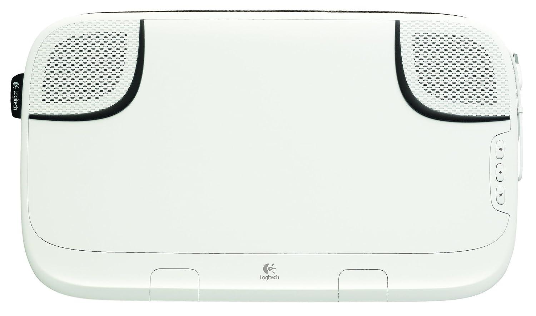 Comparer LOGITECH SPEAKER LAPDESK N550 BLANC 2.0