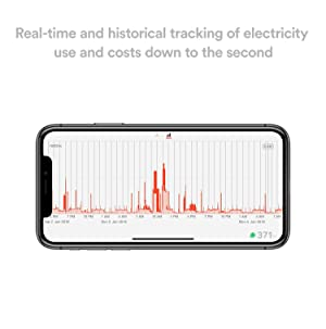 Sense Energy Monitor with Solar - Electricity Usage Monitor to Track Solar Production and Energy Usage in Real Time (Color: Orange)