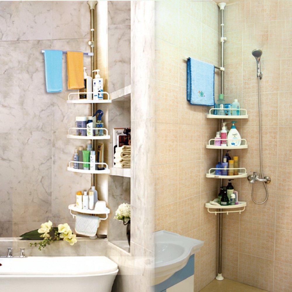 Luxury  Foldable Storage Shelf Rack Kitchen Bathroom Holder Organizer24X38cm