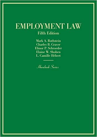 Employment Law (Hornbook)