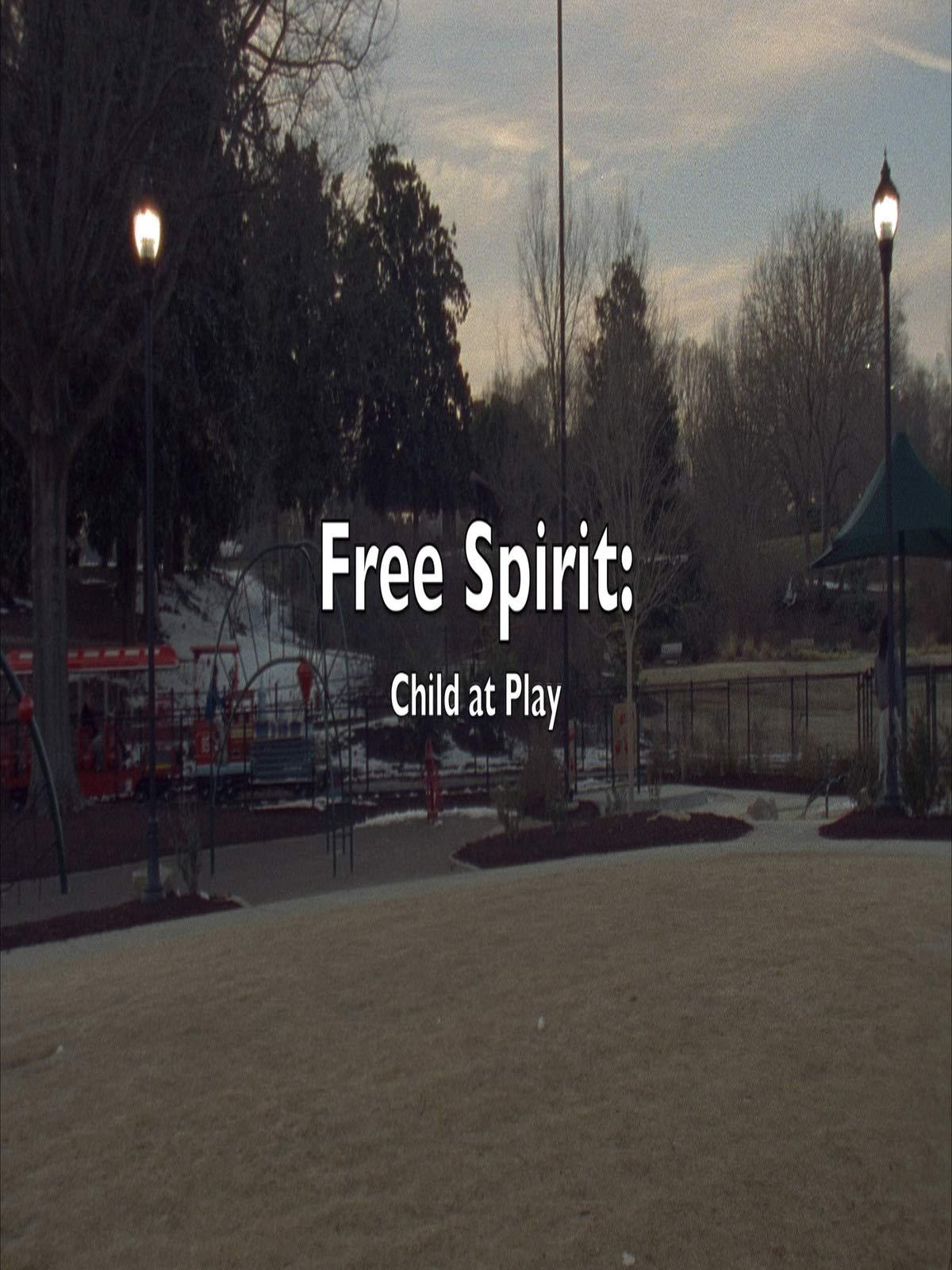 Free Spirit Child at Play