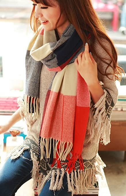 ZPS 1PCS Fashion Womens Warm Winter Scarf Shawl Cotton Blend Long Soft Scarves Wraps -- $5.15 + Free Shipping