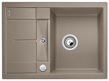 blanco metra 45 s compact felsgrau k chensp le einbau grau granitsp le sp ltisch k che. Black Bedroom Furniture Sets. Home Design Ideas