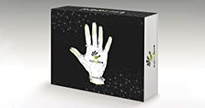 CaptoGlove 1.0 Pair Medium Wearable Gaming Hand Machine Interface - PC (Color: Black, Tamaño: Medium)