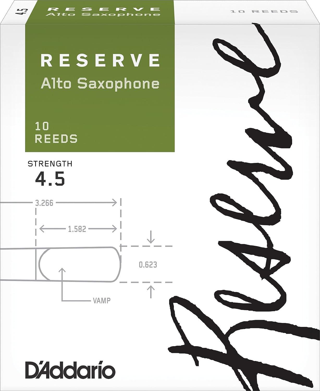 D'Addario Reserve Alto Saxophone Reeds tenor saxophone bb reeds 10 pack