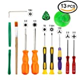 Triwing Screwdriver for Nintendo - Professional Full Triwing Screwdriver Repair Tool Kit,3.8mm and 4.5mm Security Screwdriver Game Bit Tool Set for Nintendo Switch Joycon/Nintendo Wii/DS/DSL/GBA (Tamaño: Small)