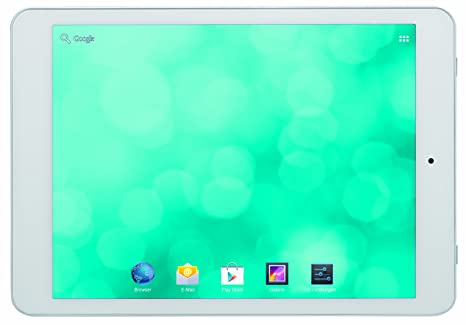 Bleupunkt 1081234705001 Polaris 19,5 cm (7,8'') Tablette Tactile (Qualcomm, 1,3GHz, 16Go RAM, 16Go HDD, Dual-Mali 400, 5 Megapixel Camera, Android 4.2) Blanc