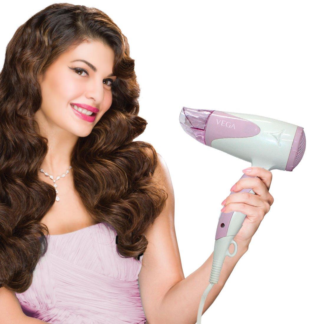 Vega Blooming Air VHDH-05 Hair Dryer - Pink And White